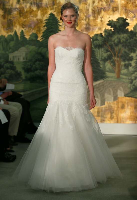 Wedding dress by Anne Barge Spring 2014 Bridal Hyacinthe