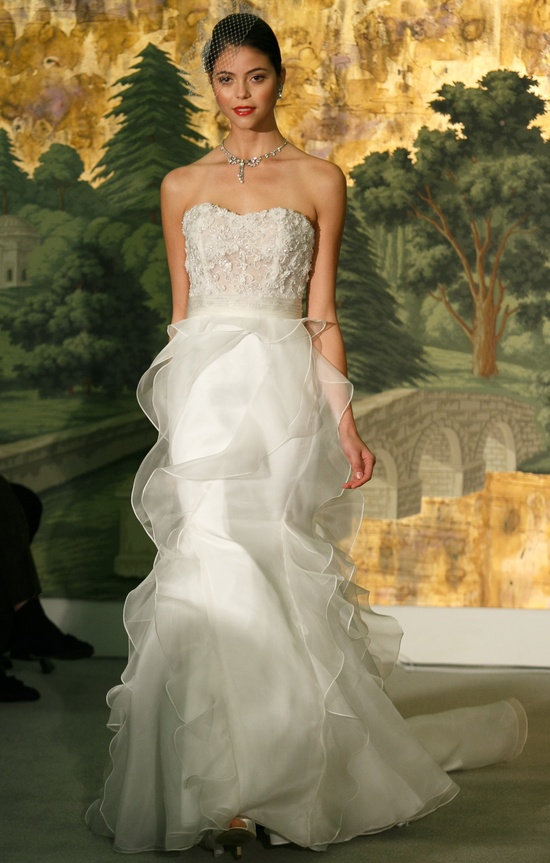 Wedding dress by Anne Barge Spring 2014 Bridal Acacia