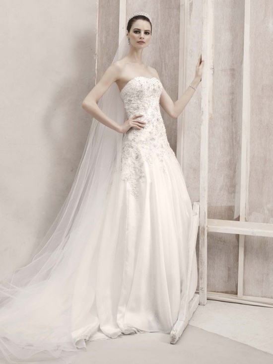2012 wedding dress oleg cassini bridal gowns ct424