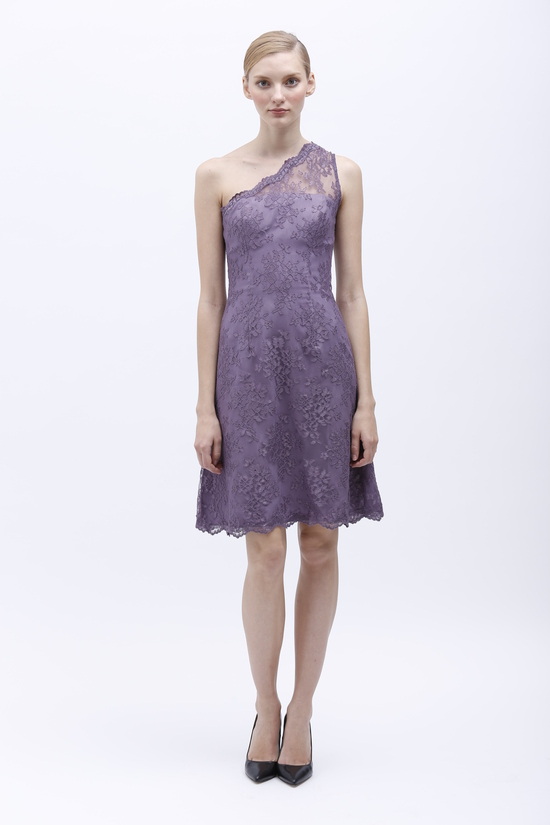 Monique Lhuillier Spring 2014 Bridesmaid Dress 450148 Violet