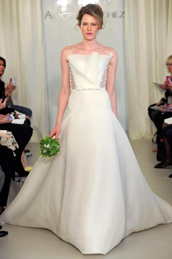 Angel Sanchez wedding dress Spring 2014 Bridal 4