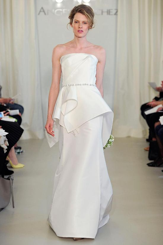 Angel Sanchez wedding dress Spring 2014 Bridal 8