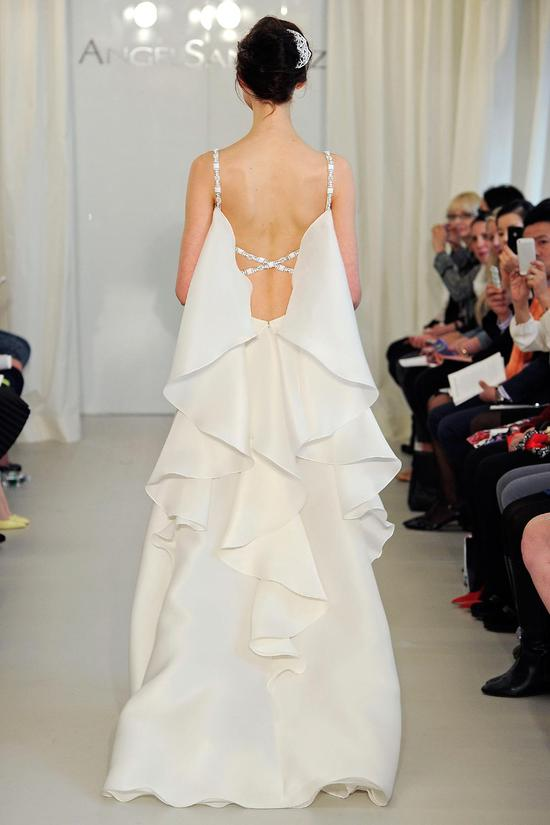 Angel Sanchez wedding dress Spring 2014 Bridal 9