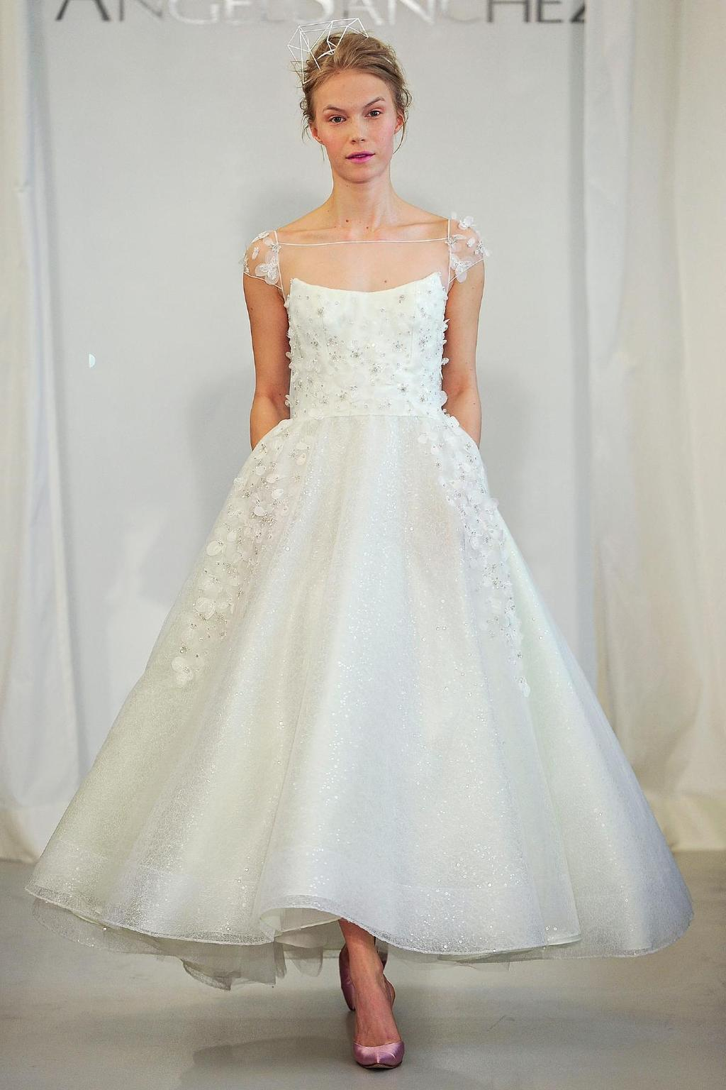 Angel sanchez wedding dress spring 2014 bridal 10 onewed com