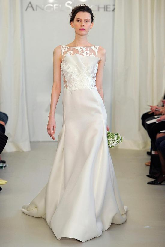 Angel Sanchez wedding dress Spring 2014 Bridal