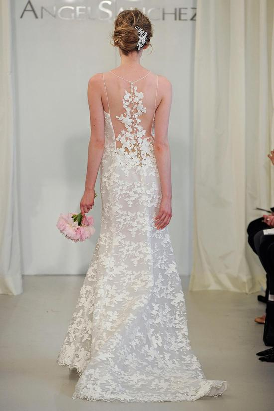 Angel Sanchez wedding dress Spring 2014 Bridal 12