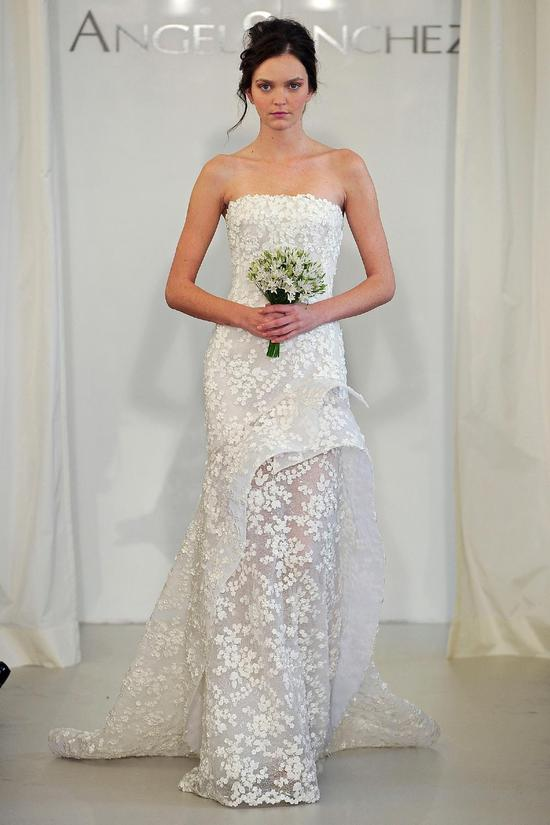 Angel Sanchez wedding dress Spring 2014 Bridal 13