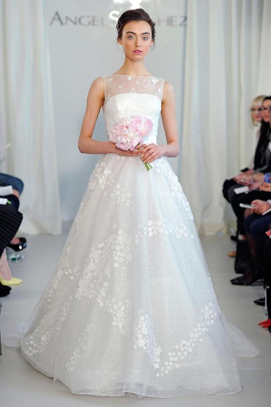Angel Sanchez wedding dress Spring 2014 Bridal 14