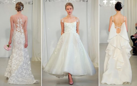 Angel Sanchez Spring 2014 Bridal Wedding Dresses