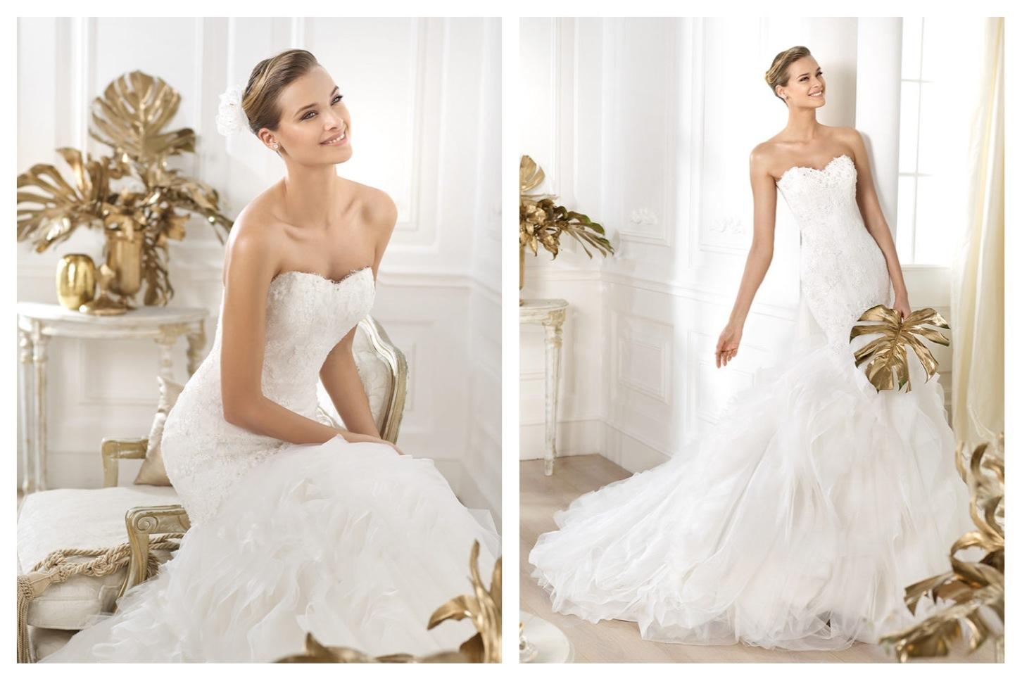 Pronovias Wedding Dress Pre 2014 Bridal Dreams Collection