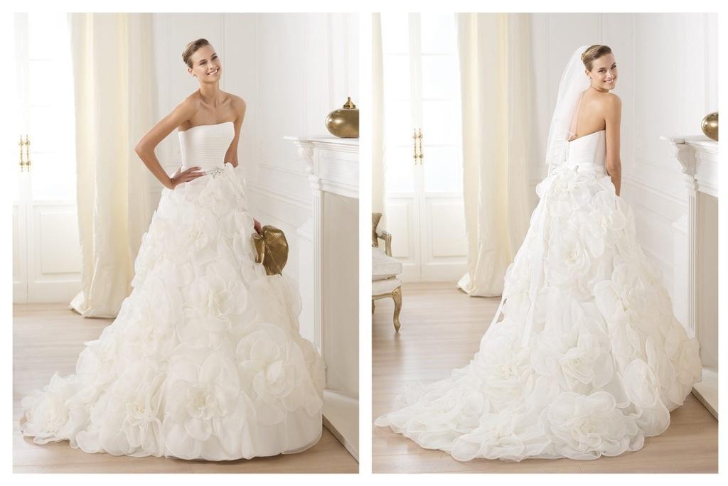 Pronovias Wedding Dress Pre 2014 Bridal Dreams Collection Licia