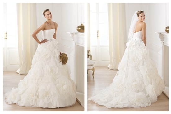Pronovias wedding dress pre 2014 bridal Dreams collection Licia