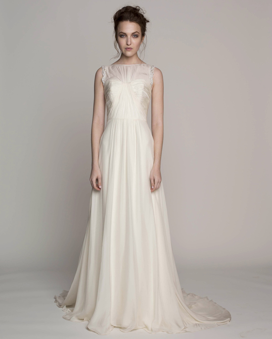 Kelly Faetanini Wedding Dress 2014 Spring Bridal Gown Collection Caitlin Front