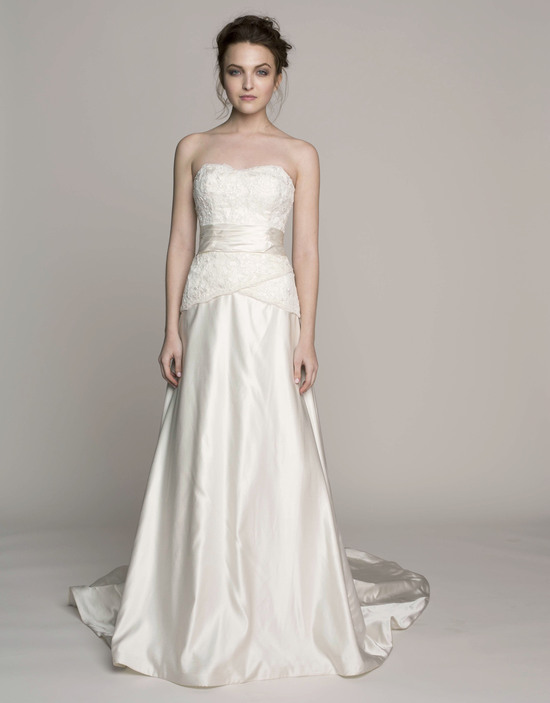 Kelly Faetanini Wedding Dress 2014 Spring Bridal Gown Collection Elodie Front