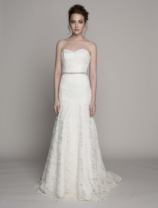 Kelly Faetanini Wedding Dress 2014 Spring Bridal Gown Collection Isabelle Strapless Front