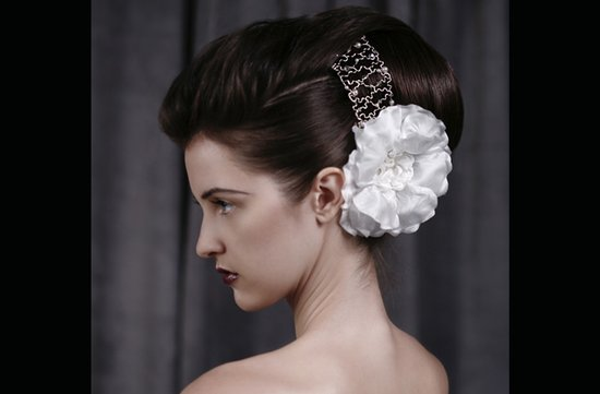 voluminous bridal updo wedding hairstyles for vintage brides
