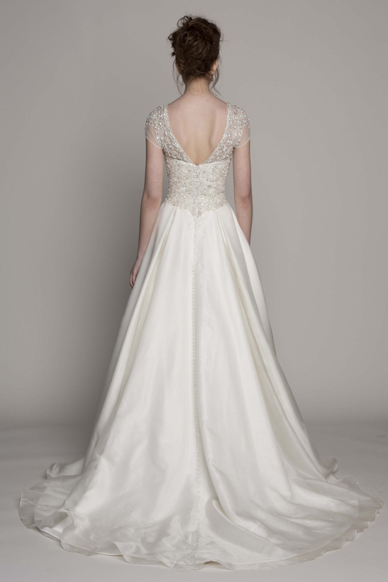 Kelly Faetanini Wedding Dress 2014 Spring Bridal Gown Collection Kenzie Front