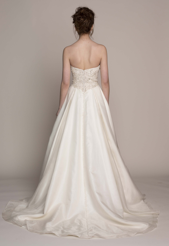 Kelly Faetanini Wedding Dress 2014 Spring Bridal Gown Collection Kenzie Strapless Front