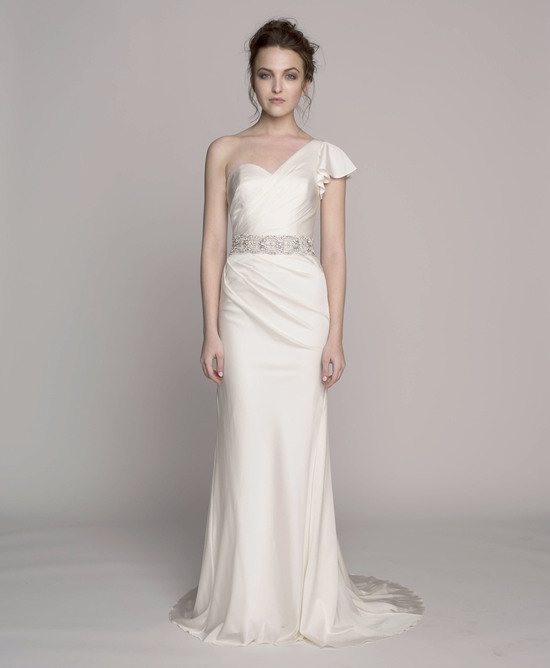 Kelly Faetanini Wedding Dress 2014 Spring Bridal Gown Collection Martine Front