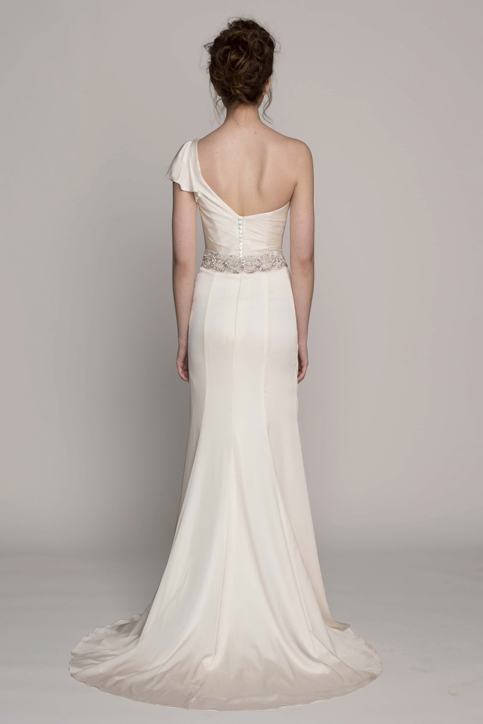 photo of Kelly Faetanini Wedding Dress 2014 Spring Bridal Gown Collection Martine Front