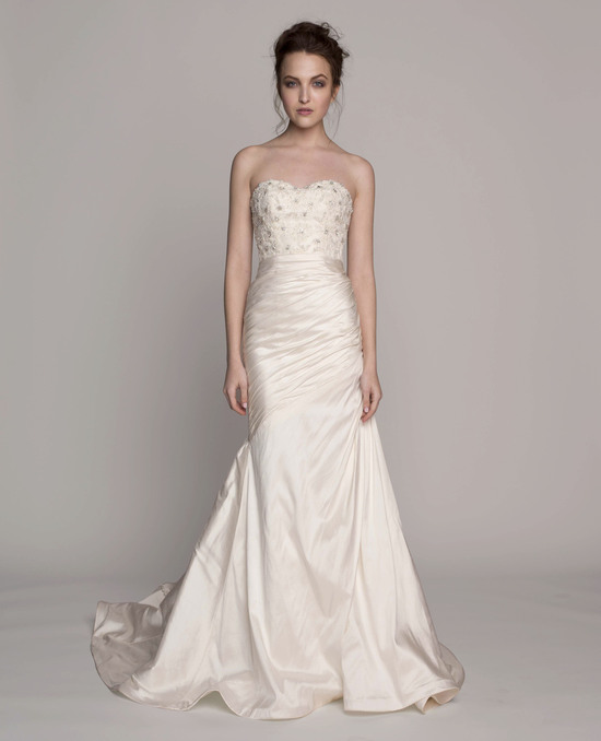Kelly Faetanini Wedding Dress 2014 Spring Bridal Gown Collection Melissa Front