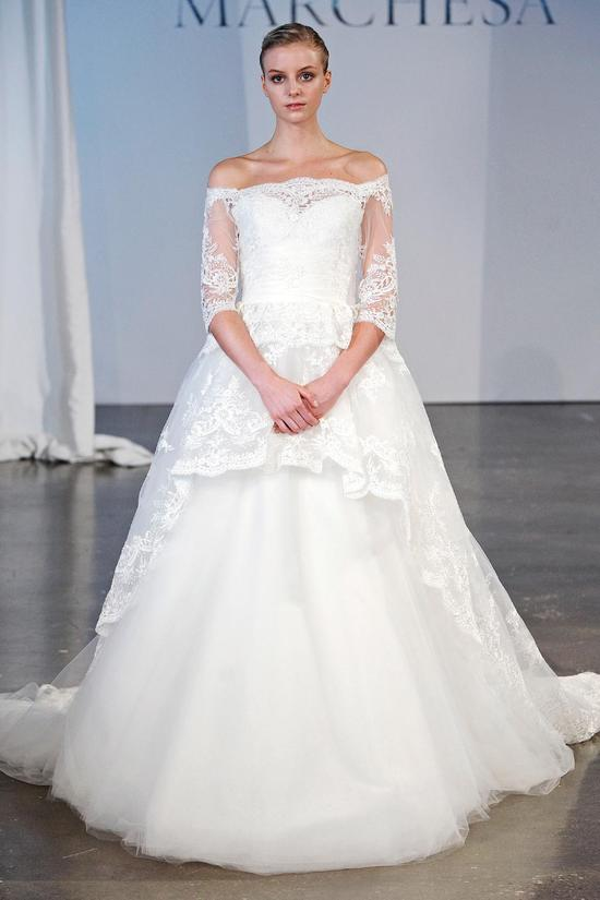 Marchesa wedding dress Spring 2014 bridal 6