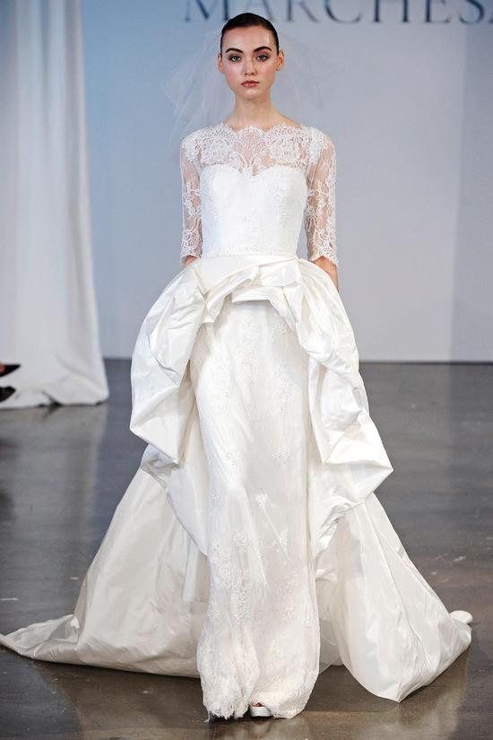 Marchesa wedding dress Spring 2014 bridal 3