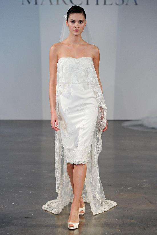 Marchesa wedding dress Spring 2014 bridal 2