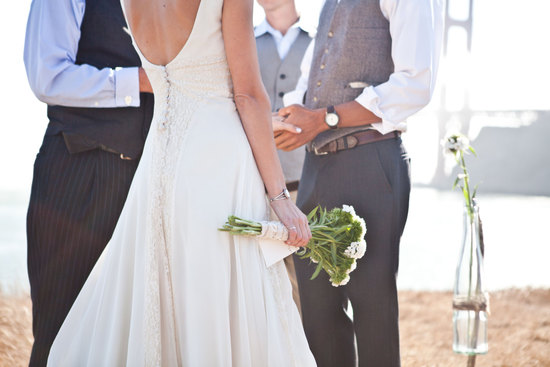 Romantic beach wedding inspiration