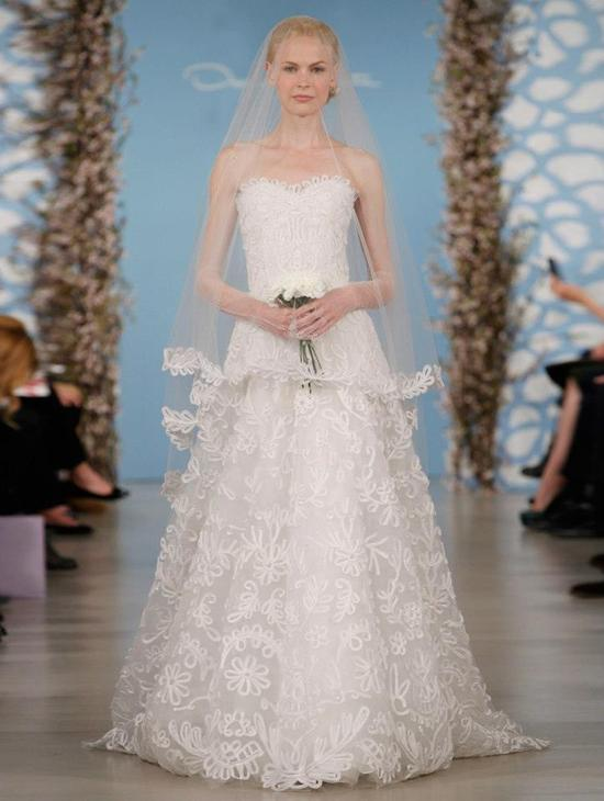 Wedding Dress by Oscar de la Renta Spring 2014 Bridal 19