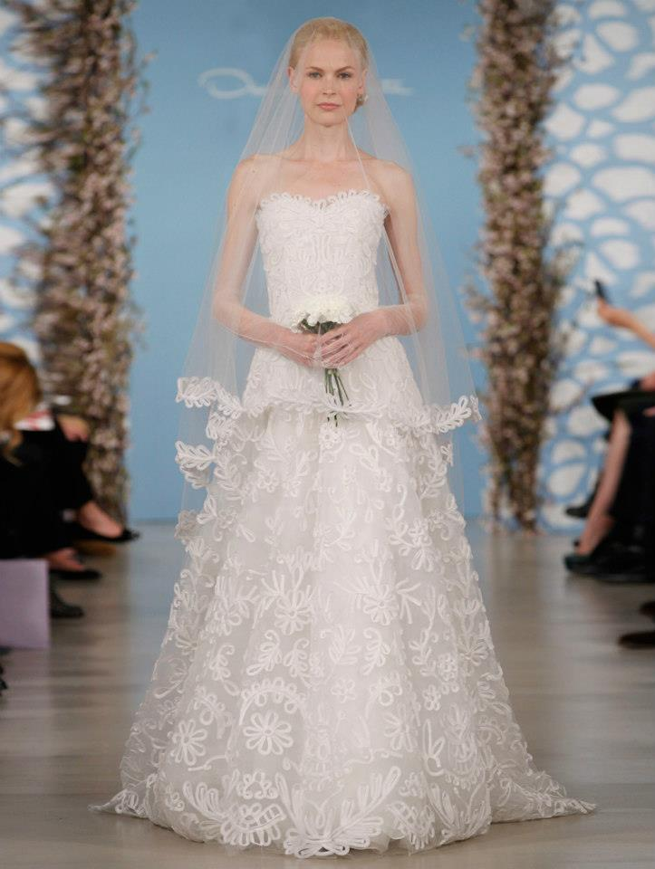 Wedding dress by oscar de la renta spring 2014 bridal 19 for Where to buy oscar de la renta wedding dress