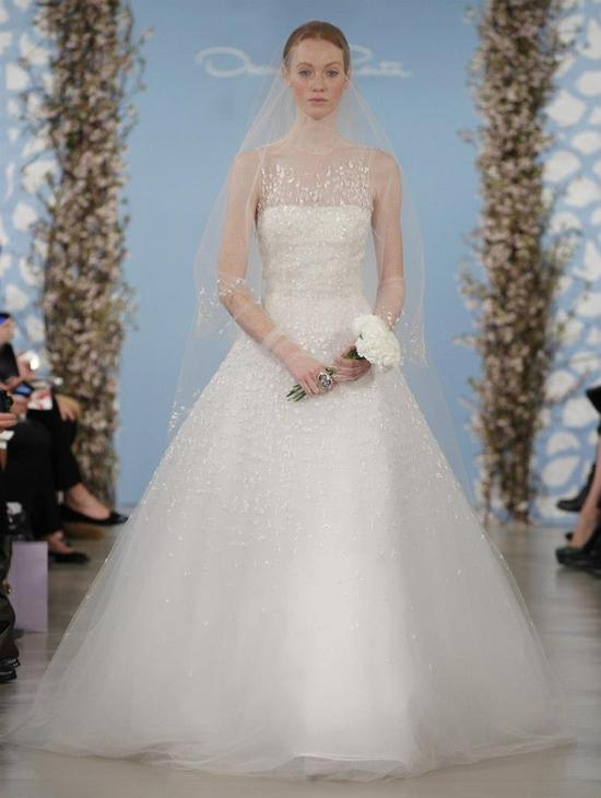 Wedding Dress by Oscar de la Renta Spring 2014 Bridal 18