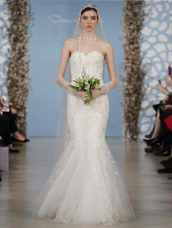 Wedding Dress by Oscar de la Renta Spring 2014 Bridal 16