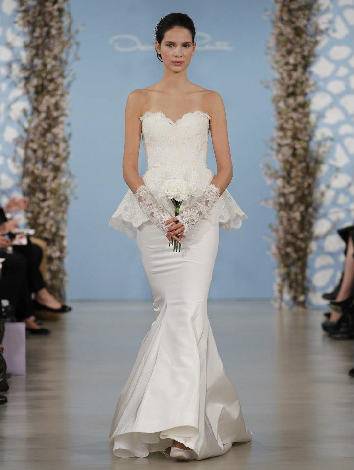 photo of Fairy Tale Wedding Gowns by Oscar de la Renta, Spring 2014