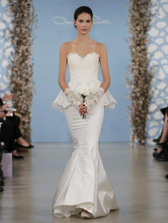 Wedding Dress by Oscar de la Renta Spring 2014 Bridal 13