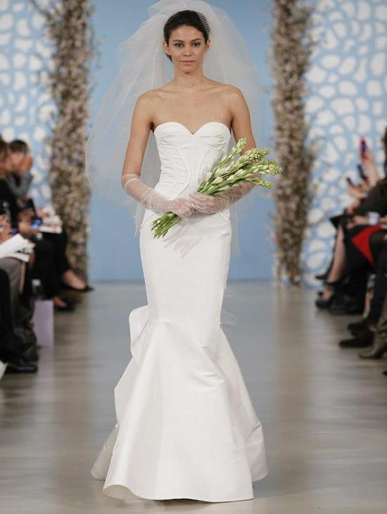 Wedding Dress by Oscar de la Renta Spring 2014 Bridal 10