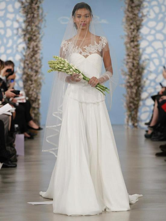 Wedding Dress by Oscar de la Renta Spring 2014 Bridal 9