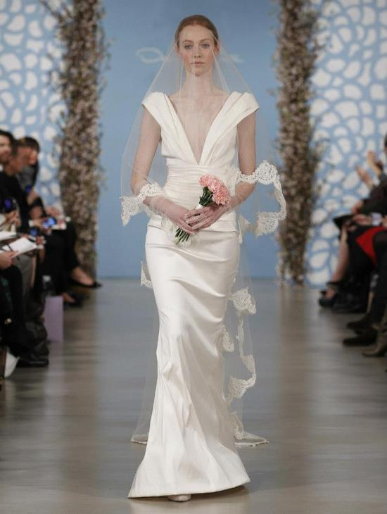 Wedding Dress by Oscar de la Renta Spring 2014 Bridal 8