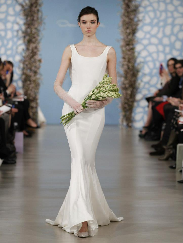 Wedding dress by oscar de la renta spring 2014 bridal 7 for Where to buy oscar de la renta wedding dress