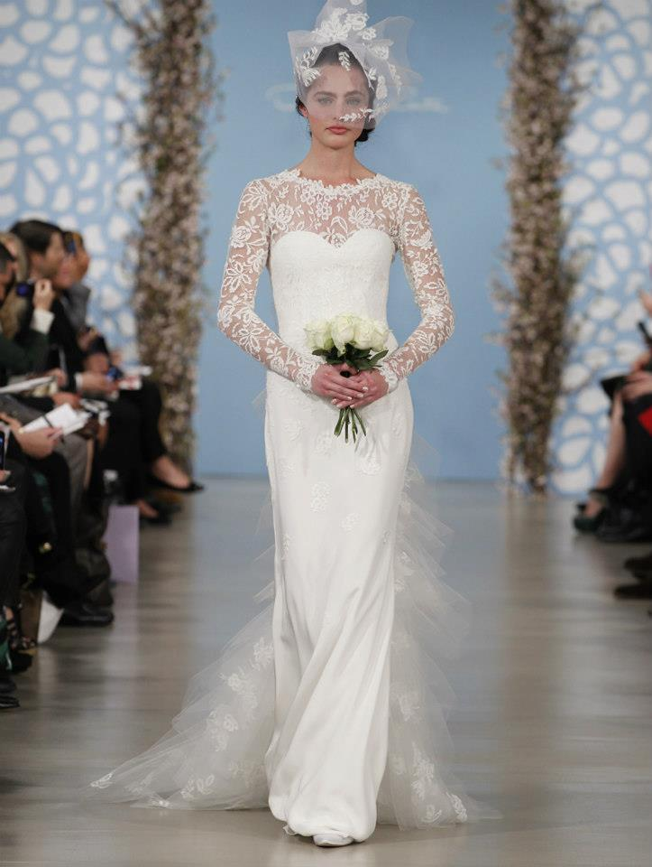 Wedding Dress by Oscar de la Renta Spring 2014 Bridal