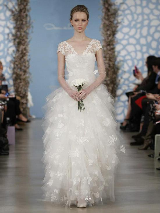 Wedding Dress by Oscar de la Renta Spring 2014 Bridal 4
