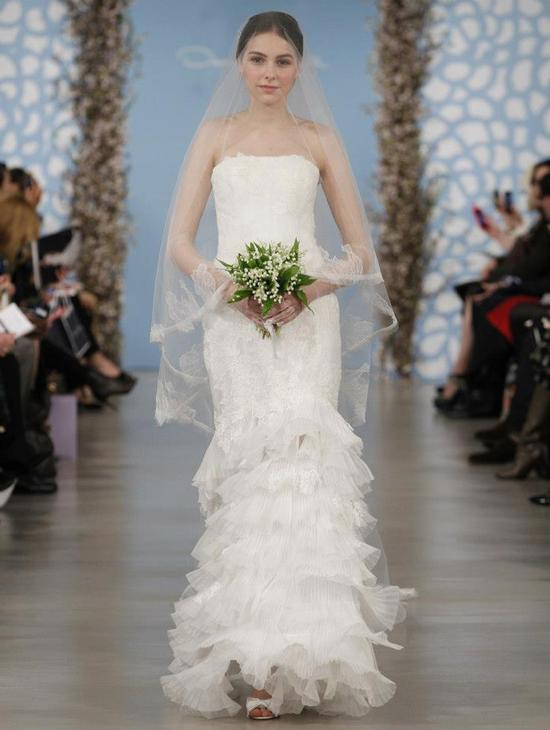 Wedding Dress by Oscar de la Renta Spring 2014 Bridal 3