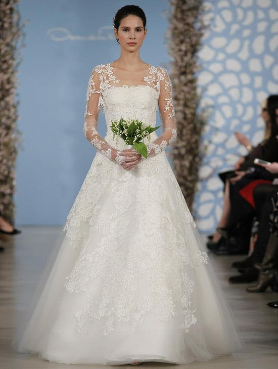 Wedding Dress by Oscar de la Renta Spring 2014 Bridal 2