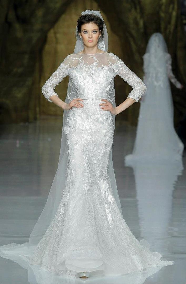 Elie Saab Wedding Dress 2014 Pronovias Bridal 2
