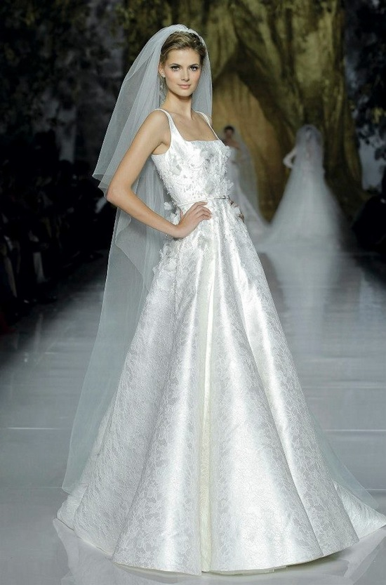 Elie Saab Wedding Dress 2014 Pronovias Bridal 6