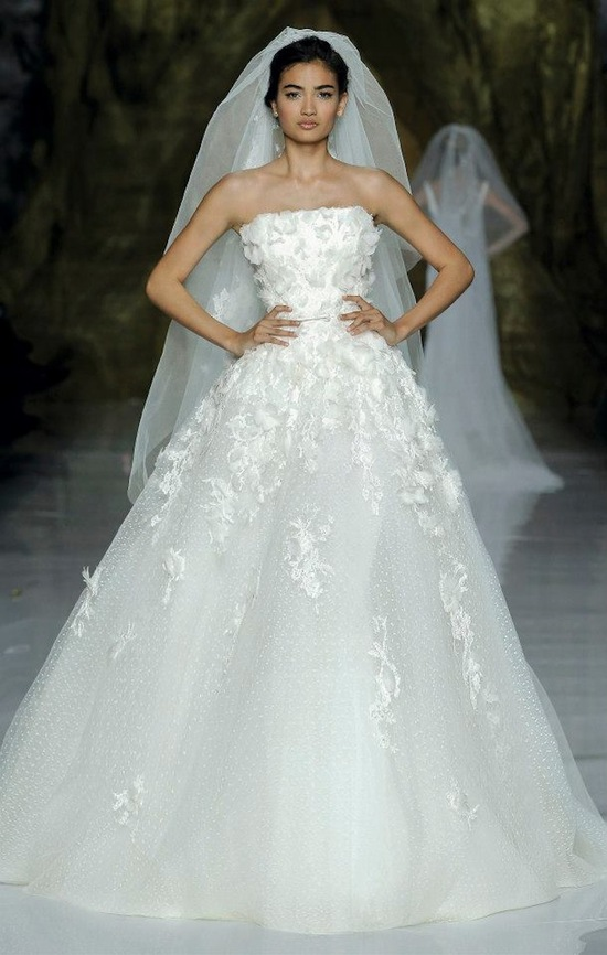 Elie Saab Wedding Dress 2014 Pronovias Bridal 4