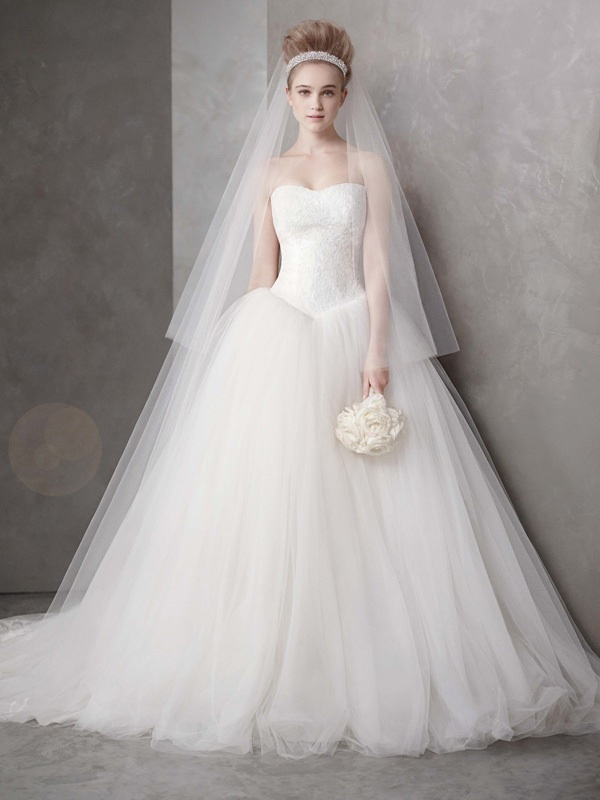 White By Vera Wang Wedding Dress Spring 2012 Bridal Gowns Vw351135