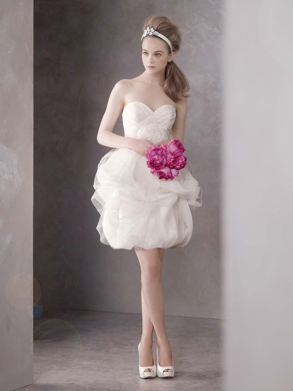 Vera Wang Mini Wedding Dresses