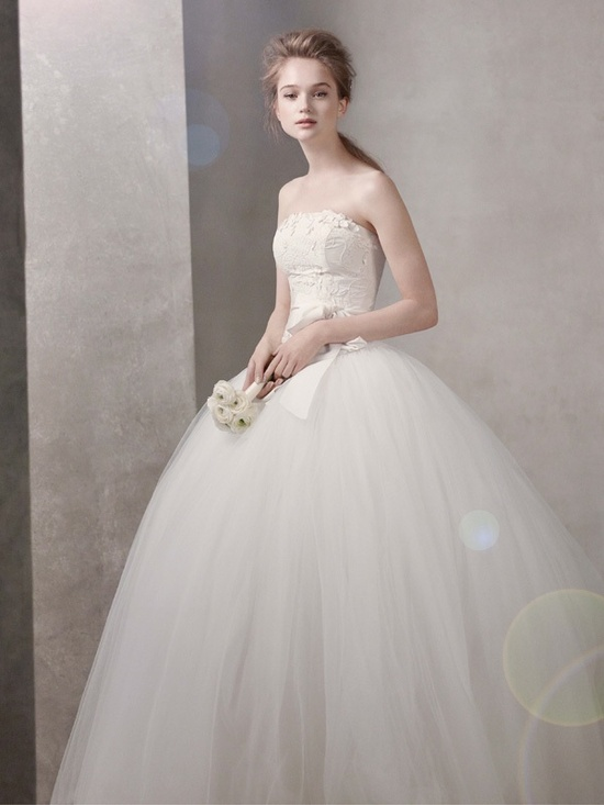 photo of white by vera wang wedding dress spring 2012 bridal gowns 351027