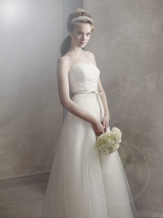 white by vera wang wedding dress spring 2012 bridal gowns VW351062